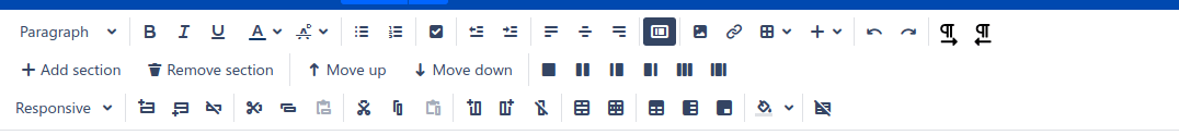confluence editing tools
